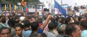 Huge Crowd to Ratnapura for Mahinda