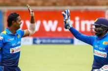 SL won the triangular series beating Zimbabwe
