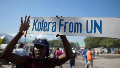Ban Ki Moon apologises from Haiti