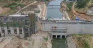 Moragahakanda Water Reservior starts to fill