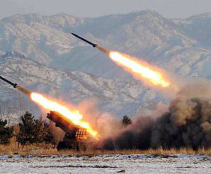 North Korea fire 4 missiles to Japanese Ocean.